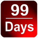 Countdown in Status Bar mobile app icon