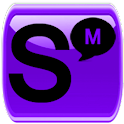 Purple Socialize 4 FB Messenge icon