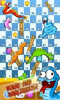 Screenshot of Snakes & Ladders Aquarium FREE