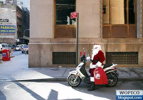 New Santas Vehicle
