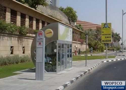 Odd Bus Stop