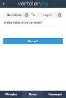Screenshot of Vertalen.nu