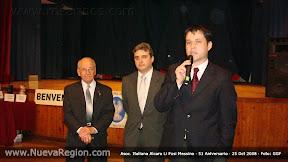 Ing. Galli, M. Pintagro, Sergio Barrios, entre las autoridades en el 51 Aniversario
