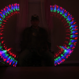 by Timothy Young - Abstract Light Painting