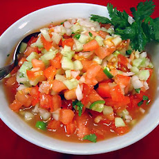 Kachumber - Fresh Tomato, Cucumber, and Onion Relish