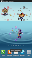 Screenshot of Chibi Yugioh Clocks