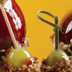 Candied Grapes with Grape-Nuts