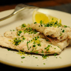 Whole Baked Fish in Sea Salt with Parsley Gremolata