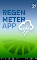 Screenshot of Regenmeter
