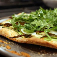 Shaved Asparagus Pizza
