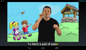 Screenshot of Rhymes with Sign