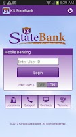 Screenshot of KS StateBank Mobile
