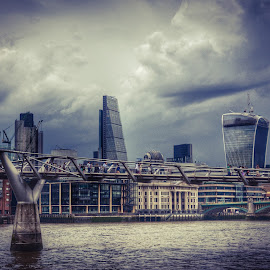 London skyline by Neil Duffen - City,  Street & Park  Skylines