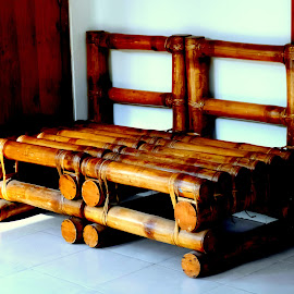 Bamboo made Sofa by Monzur Sazid Ahmed - Artistic Objects Furniture
