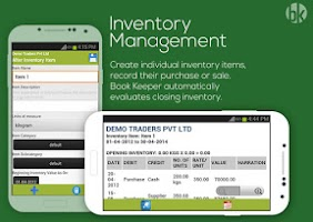 Screenshot of Book Keeper Accounting+Invoice