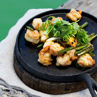 Spencer Gulf garlic prawns