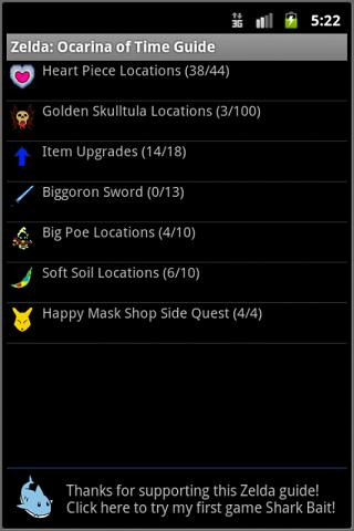 Zelda: Ocarina of Time Guide