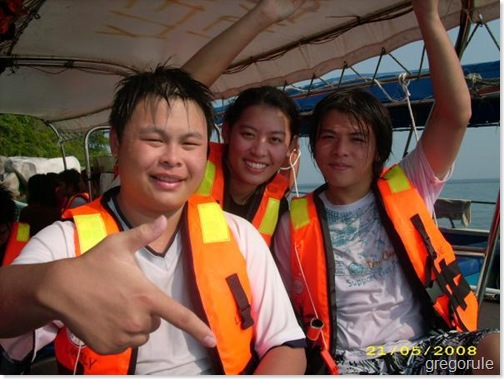 Greg, me and wei