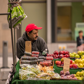 Fruit Man by Mikal Abdullah - People Street & Candids