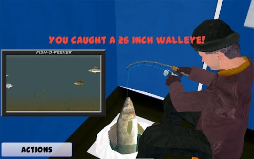 Ice fishing derby apk free sports apps for android for Ice fishing games free