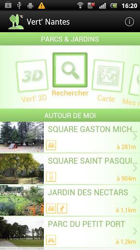 Vert' Nantes - Parcs Jardins