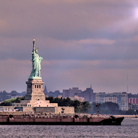 Statue of Liberty by Doreen Rutherford - Buildings & Architecture Public & Historical