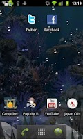 Screenshot of Coral Reef Live WP