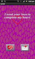 Screenshot of Love quotes Valentine's Day