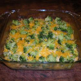 Salmon Broccoli Bake