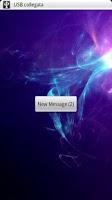 Screenshot of SMS Screen WakeUp
