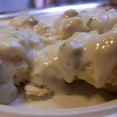 Drop Biscuits and Gravy