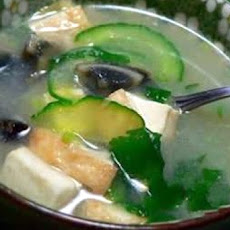 Chinese Cucumber Soup