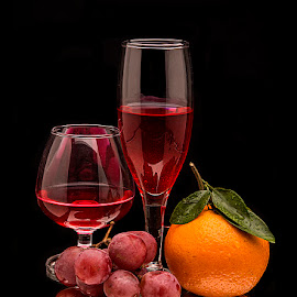 Fruit & Wine by Rakesh Syal - Food & Drink Alcohol & Drinks