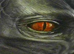 A Besta... Er... Pelo menos seu olho...