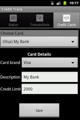Credit Track
