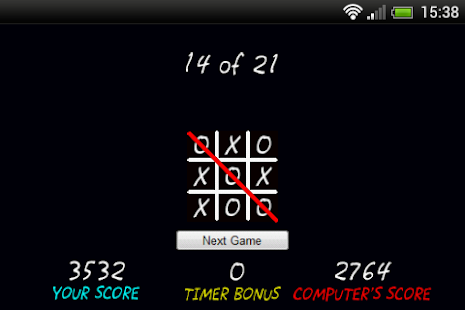 Tic-Tac-Toe Challenge - screenshot