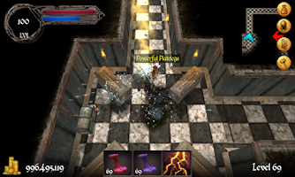 Screenshot of Daggervale Demo