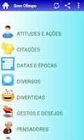 Screenshot of Mensagens prontas