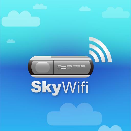 SkyWifi LOGO-APP點子