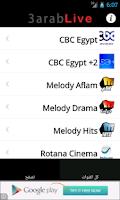 Screenshot of 3arab Live TV