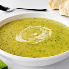 Chilled Minted Zucchini Soup