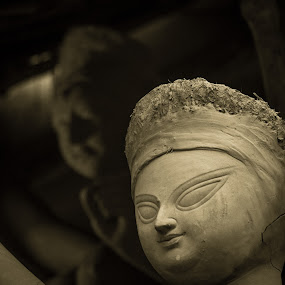 Different Avatars. by Souvik Kundu - Buildings & Architecture Statues & Monuments ( streets, kumartuli, idol, durga puja, durga )