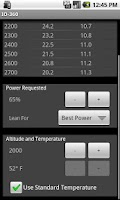 Screenshot of IO360 Power Calculator