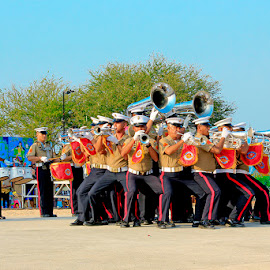 The Marines Corps by Bench Bryan - People Musicians & Entertainers ( #benchbryanphotografix )