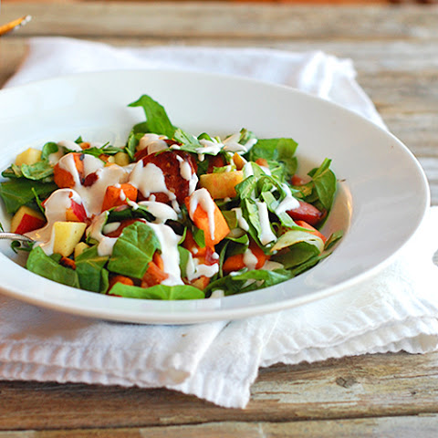 Harvest Salad with Maple Dressing