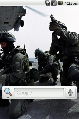 陸軍突擊隊動態壁紙