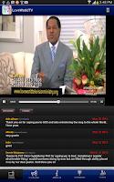 Screenshot of Loveworld TV
