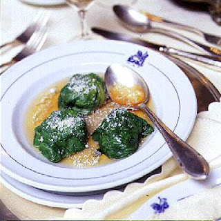 Stuffed Lettuce Leaves in Broth (Lattughe Ripiene in Brodo)