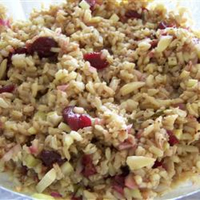 Balsamic Brown Rice Salad