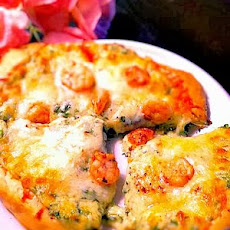 Balsamic Scampi Pizza
